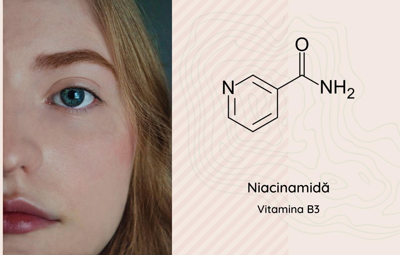 Ce este niacinamida și ce beneficii aduce pielii