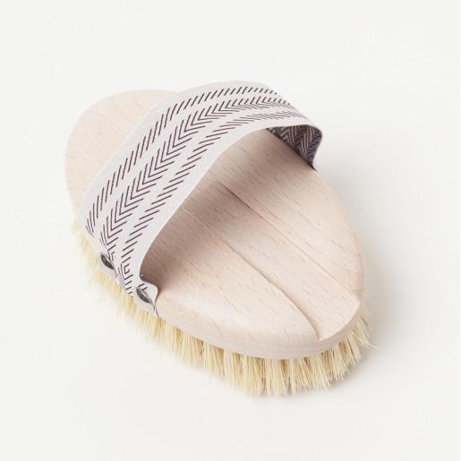 Perie de baie cu mâner detașabil
