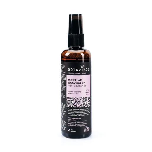 Spray micellar pentru corp cu ulei de jojoba