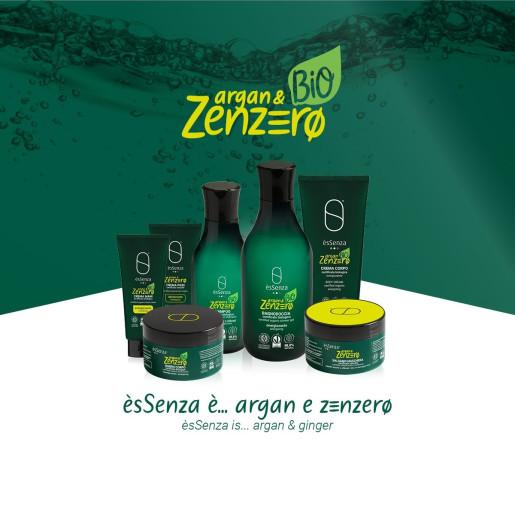Șampon cu ulei de argan și ghimbir