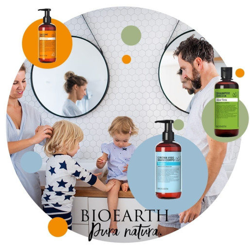 Șampon & gel de duș cu extract de arbore de ceai (500ml)