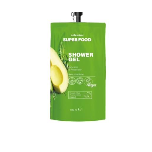 Gel de duș cu avocado și rozmarin