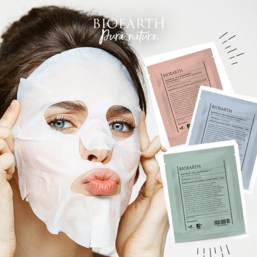 Mască de față calmantă și hidratantă pentru ten uscat și sensibil