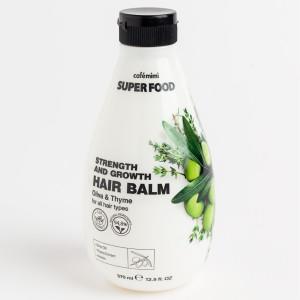Balsam cu ulei de măsline și cimbru pentru volum și creștere