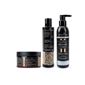 Set șampon & mască pentru păr & ulei regenerant pentru corp