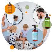 Șampon & gel de duș cu extracte organice de hamamelir și ovăz (500ml)